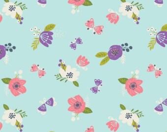 Flower, I believe in unicorns, 61170604, col 01, Camelot Fabrics, cotton, cotton quilt, cotton designer