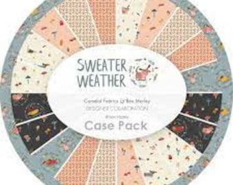 Bundle, 8 motifs, Sweater Weather, Camelot Fabrics, quilt cotton