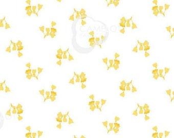Mini-Flower, yellow, 71190202, col 02, Summer Blooms, Camelot Fabrics, cotton, cotton quilt, cotton designer