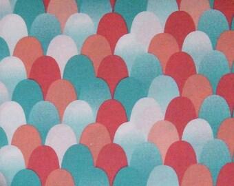 Fabric Wave, 100% cotton, cotton quilt, cotton designer