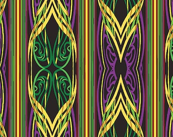 Gold metallic, Stripe Purple/Multi, #3178M, 66, Benartex, cotton, cotton quilt, cotton designer