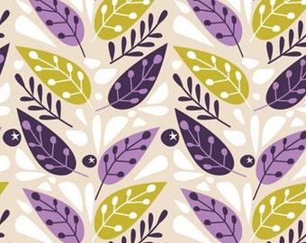 SALE, Leaves, 18180104, col 01, Springs Birds, Camelot Fabrics, 100% Cotton, (Reg 3.76-21.91)