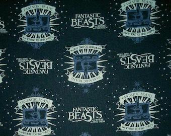 Harry Potter, Wizarding World, Fantastic Beast, 23900101, col 02, Camelot Fabrics, cotton, cotton quilt, cotton designer