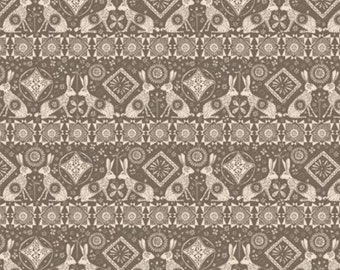 SALE, Hares, Home on the Prairie, 30180302, col 02, Camelot Fabrics, 100% Cotton, (Reg 3.76-21.91)