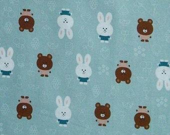 SALE, Rabbit, Woo ILL, cotton, cotton quilt, cotton designer, (Reg 3.76-21.91)