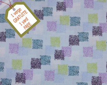 Fabric Square, 100% cotton, cotton quilt, cotton designer. Comes WITH tracking code