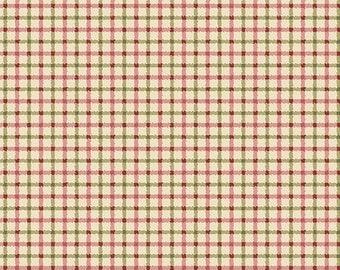 Fabric, Plaid Beige, Zelie Ann, #06717, 70, Benartex, 100% cotton, cotton quilt, cotton designer
