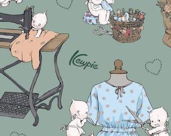 Sew Kewpie of Riley Blake Designs, SAGE, #10540, fabric, cotton, quilt cotton