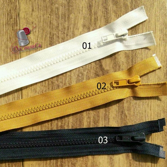 Vislon Zipper Slide #5V Available in various colors /& functions