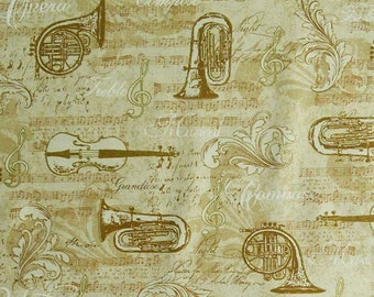 SALE, Musical instrument, musical note, All that Jazz, 15898, Robert Kaufman, cotton, cotton quilt, cotton designer, (Reg 3.76-21.91)