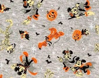 Fabric Halloween, Mickey Mouse, #85271027 - Character Halloween of Camelot Fabrics