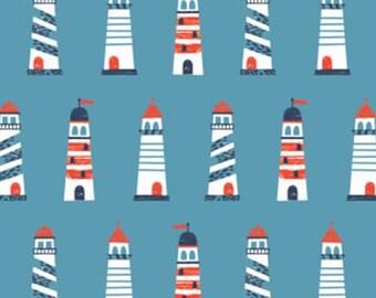 Lighthouse, Nautical, Camelot Fabrics, 89190602, col 02, cotton, cotton quilt, cotton designer