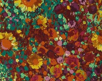 Flower, Painterly Petals, 19148, col 196, Robert Kaufman, 100% Cotton
