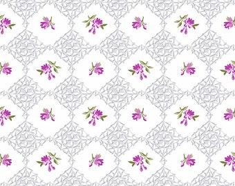 Fleurs, 9221, P, Symphony,  Andover, 100% Cotton
