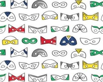Masks, 27180503, Half-Pint Heroes, Camelot Fabrics, cotton, cotton quilt, cotton designer
