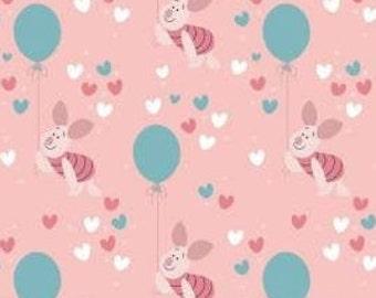 Winnie The Pooh, Be Happy, 85430522, col 02, Camelot Fabrics, cotton, cotton quilt, cotton designer, (Reg 4.61-26.99)
