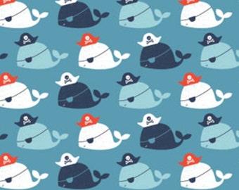 Pirate, Whale, Nautical, Camelot Fabrics, 89190606, col 02, cotton, cotton quilt, cotton designer