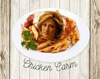 The Sopranos Carmela Soprano Chicken Parm Chicken Carm funny PNG for decal or sublimation