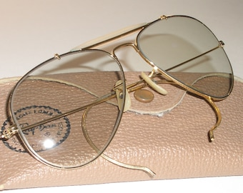 53c47f3fe84d9 ... release date circa 1960s early 1970s 5814 vintage bausch lomb ray ban  gp gray tone photochromatic