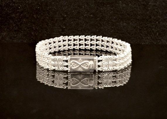 Byzantine handmade Bracelet in Sterling Silver, handmade bracelet, sterling  silver bracelet, Byzantine Jewelry, Greek Jewelry
