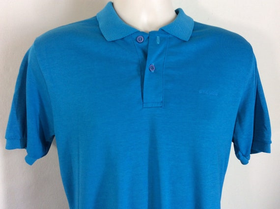 Vtg 80s OP Ocean Pacific Embroidered Logo Polo Sh… - image 1