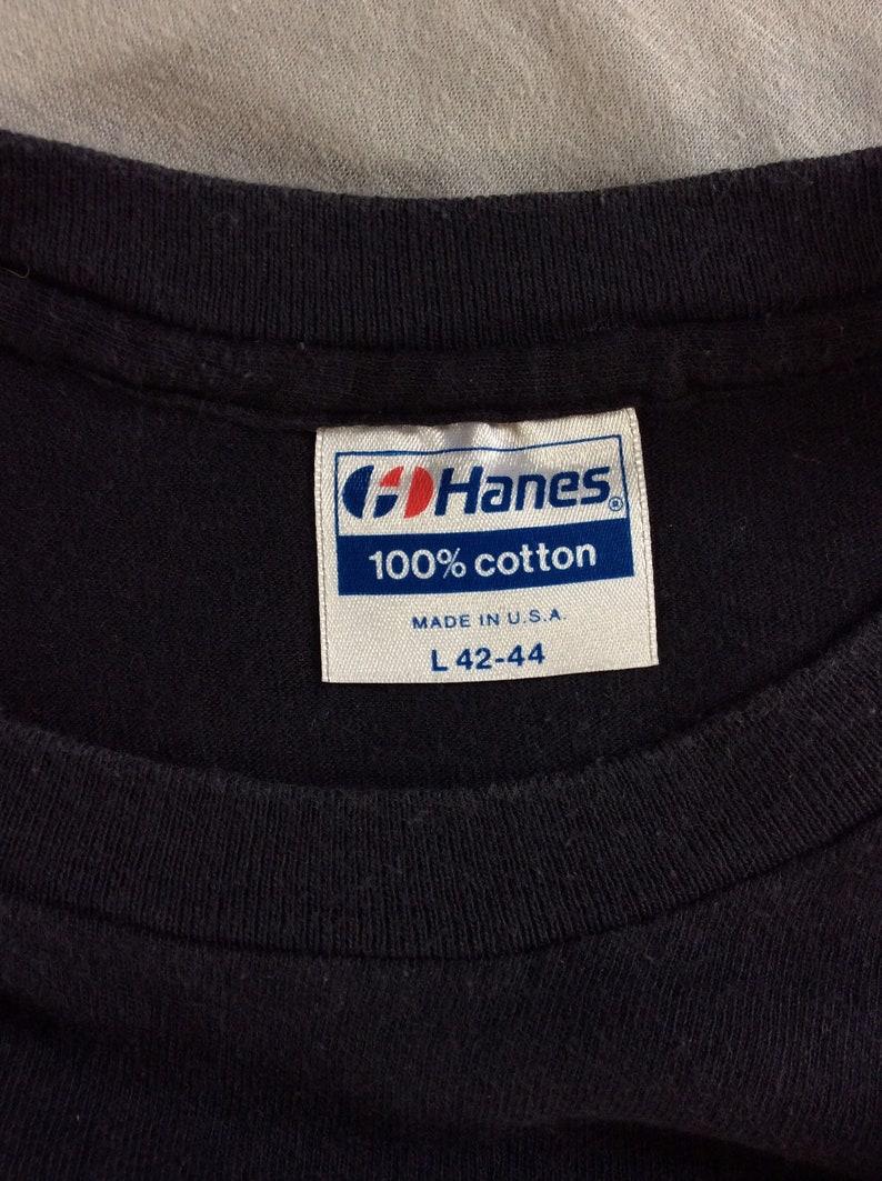 Vtg 1986 James Taylor T-Shirt Black ML 80s Classic Folk Rock Hanes