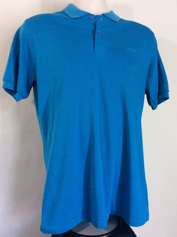 Vtg 80s OP Ocean Pacific Embroidered Logo Polo Sh… - image 4