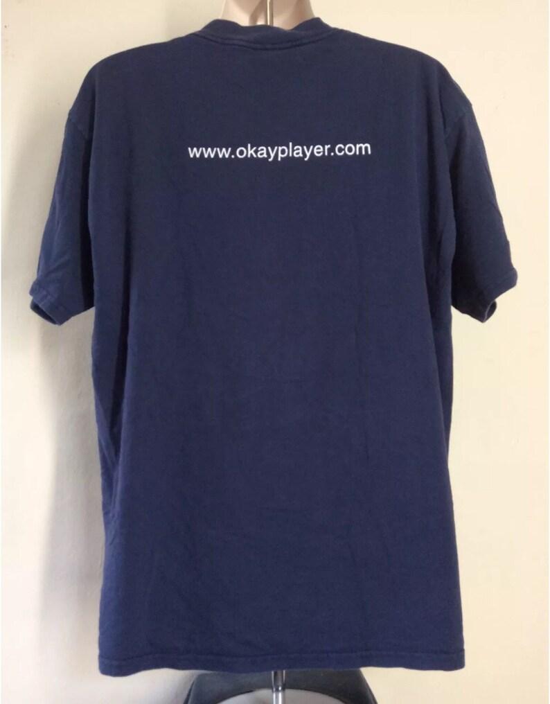 Vtg 1999 The Roots Ok Player T-Shirt Blue XL 90s Rap Hip Hop OKPlayer