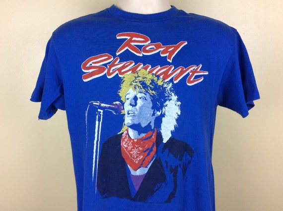 Vtg 1987 Elvis Costello Nick Lowe Concert T-Shirt Pink ML 80s Tour