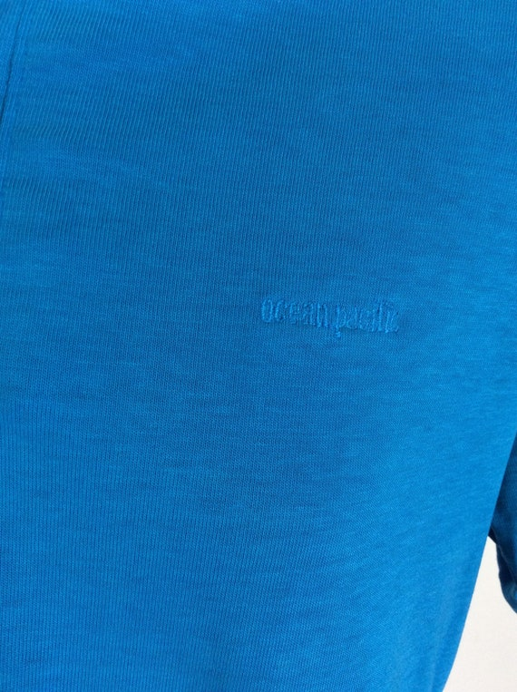 Vtg 80s OP Ocean Pacific Embroidered Logo Polo Sh… - image 5