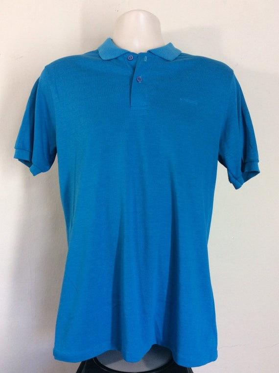 Vtg 80s OP Ocean Pacific Embroidered Logo Polo Sh… - image 2