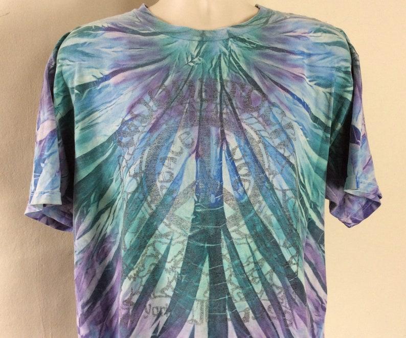 Vtg 1999 Woodstock 99 T-Shirt Tie Dye XL 90s Festival Concert