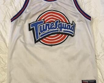 5fb1b5cb147e Michael Jordan  23 Tunesquad Space Jam Jersey Size. L