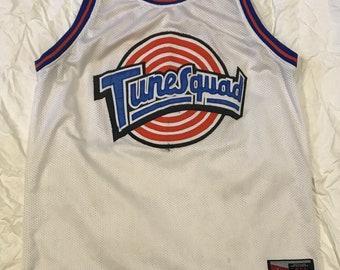 87581eeeff27 Michael Jordan  23 Tunesquad Space Jam Jersey Size. L
