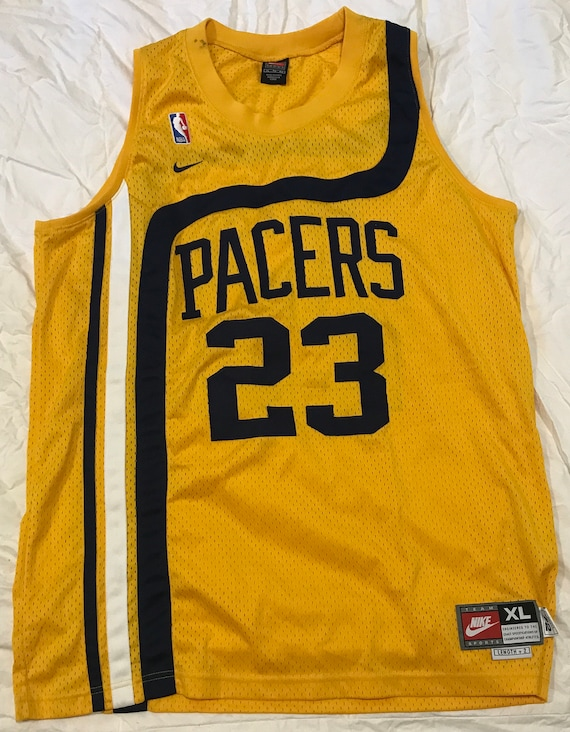 a57dfaa5363 Ron Artest 23 Nike Pacers Jersey Size XL 2 Length