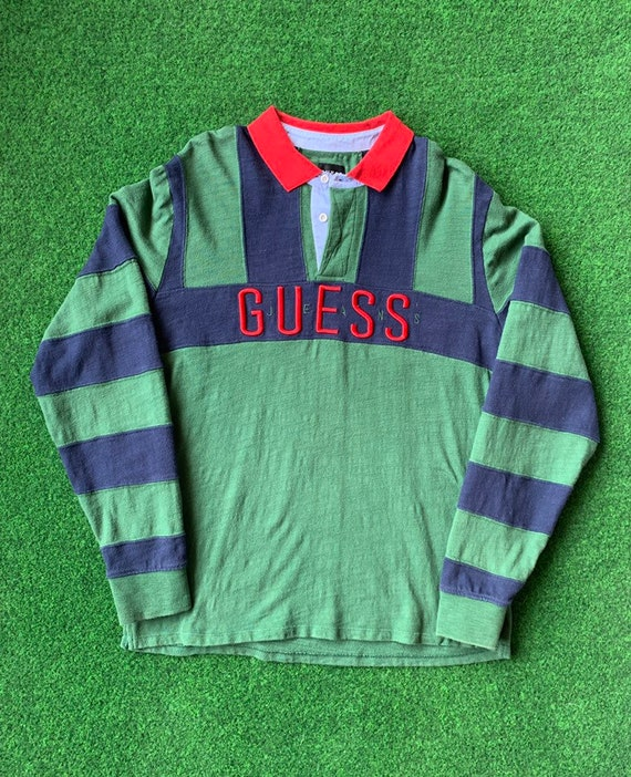 90's Guess Jeans Rugby