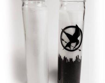 Hunger Games Mockingjay Candle Printable