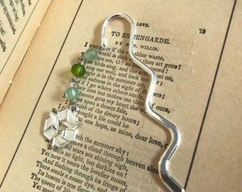 Recycle bookmark, waste reduction, conservationist gift