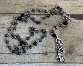 Santa Muerte rosaries
