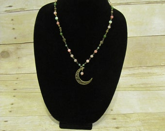 Watermelon Moon Necklace