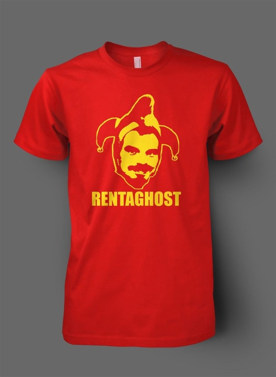 Men's or Ladies Rentaghost Claypole Face Red T-shirt