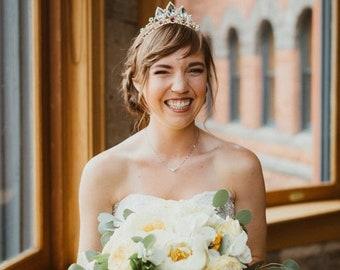 SALE! Rapunzel Crown perfect for Disney Wedding, Gold Crystal Tiara, Rapunzel Tiara, Tangled Crown, Tangled Tiara ,Princess Rapunzel