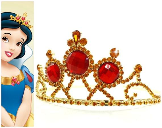 Brand New Disney Princess Snow White Tiara Halloween Costume Accessory