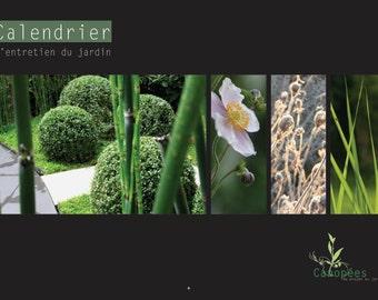 Perpetual calendar of garden maintenance