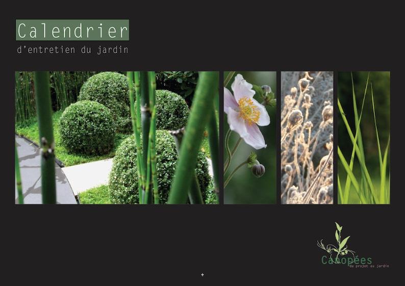 Perpetual garden maintenance calendar image 0