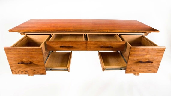 Superb Brazilian Cherry And White Oak Office Desk Download Free Architecture Designs Scobabritishbridgeorg