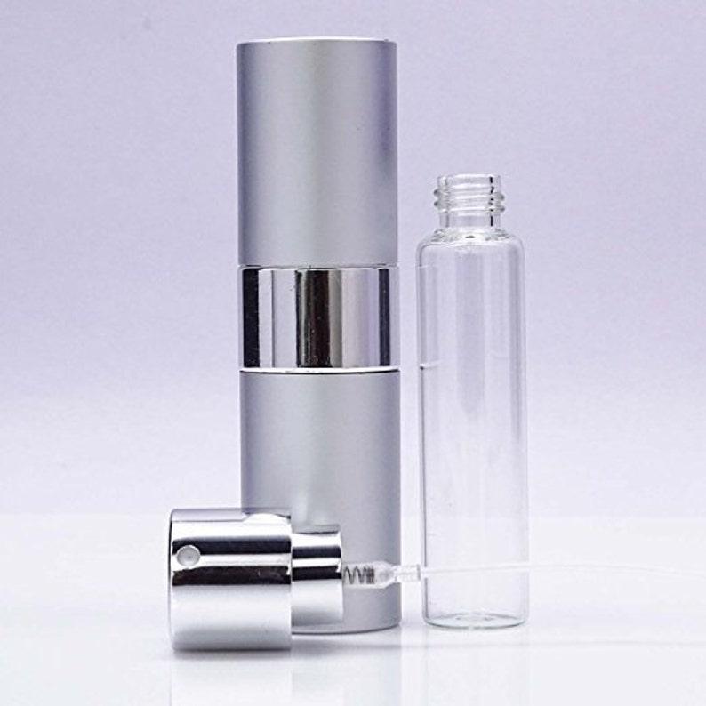 7d7ef7684b4b 1 Pc Empty Clear Glass Spray Bottles, Atomizer Refillable Essential Oil  Bottles, Boston Round Perfume Bottle, 15 ml Roller Ball BOT315B
