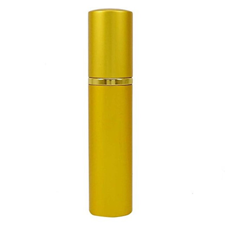 1ab5a1c71ada 15 ML Golden Empty Clear Glass Refillable Perfume Spray Bottle, Atomizer  Bottle For Travel Handbag- Pack of 2 Pcs BOT365B