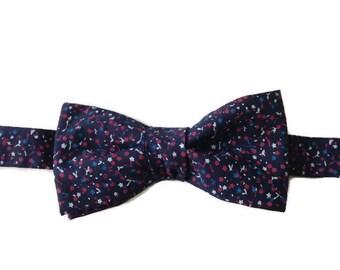 bow tie, bowtie, plum bow, bow tie pre tied, men gift