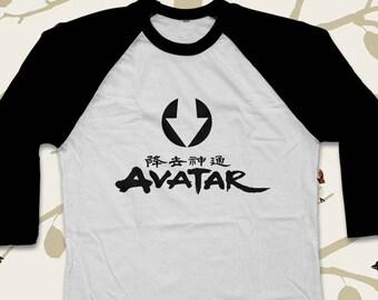 Avatar the last airbender Shirt Avatar Shirt The Last Airbender Tshirt Avatar Baseeball Shirt Avatar Legend of Korra Shirt AVT1A